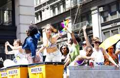 LGBT Pride March Royalty Free Stock Photography