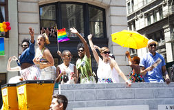 LGBT Pride March Royalty Free Stock Photo