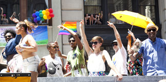 LGBT Pride March Royalty Free Stock Photos