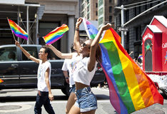 LGBT Pride March Royalty Free Stock Images