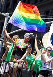 LGBT Pride March Stock Photo