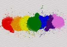 LGBT pride month background concept stock photos