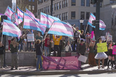 LGBT Rally in Asheville Against HB2 Law Stock Photography