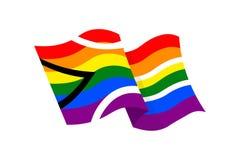 LGBT-Symbolthema Stockbild
