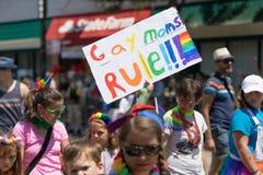 LGBTQ Pride Parade 2018 fotografia stock