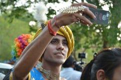 LGBTQlesbian bög, bisexuella personer, transgenders Fotografering för Bildbyråer
