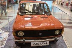 Légendes de l'industrie automobile en Pologne communiste Image libre de droits