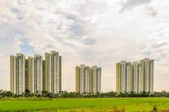 Lägenhet på Hanoi, Vietnam Royaltyfria Bilder
