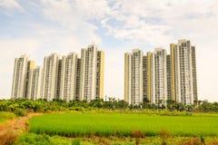 Lägenhet på Hanoi, Vietnam Arkivfoton