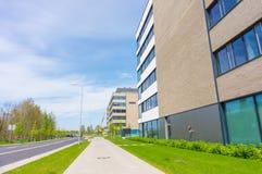 lägenheter som bygger arbete för ställe för affärskontor Fotografering för Bildbyråer