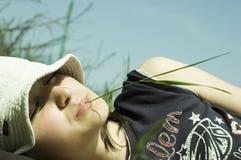 ålägga sunen Fotografering för Bildbyråer