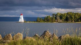 Lghthouse en Nova Scotia photos libres de droits