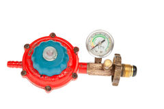 LGP Gas regulator Royalty Free Stock Image