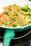 Légumes dans la casserole Photo libre de droits