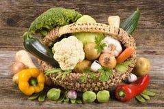 Légumes frais et fruits Photographie stock