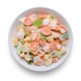 Légumes mélangés figés Photos stock