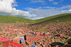 Lharong Monastery Royalty Free Stock Images
