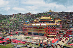 Lharong Monastery Royalty Free Stock Photos