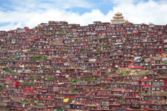 Lharong Monastery of Sertar Stock Image
