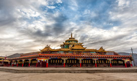 Lharong Monastery of Sertar Royalty Free Stock Photography