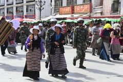 Lhasa τώρα Στοκ εικόνα με δικαίωμα ελεύθερης χρήσης