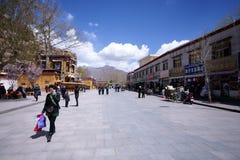 lhasa Тибет Стоковые Изображения RF