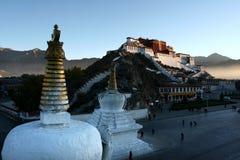 Lhasa. Grand Lhasa in the morning Stock Photos