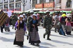 Lhasa ahora Imagen de archivo libre de regalías