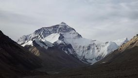 Lhasa, China Tibet,  along the road towards Mount Everest, panoramic views and mountain landscapes view everest mountain