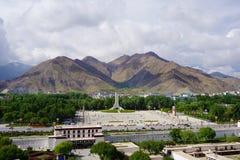 Free Lhasa City Tibet,China Stock Image - 121912451