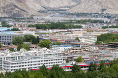 Lhasa city Royalty Free Stock Photography
