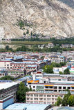 Lhasa city Stock Photography