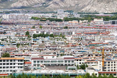 Lhasa city Royalty Free Stock Images