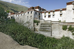 Lhasa drepung monastry Zdjęcie Royalty Free