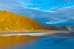 lhasa flod Arkivbilder