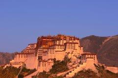 lhasa pałac potala Tibet zdjęcie stock