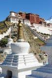 lhasa pałac potala Tibet Obraz Stock