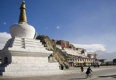 lhasa pałac potala Tibet obraz royalty free