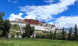 Lhasa potala palace Stock Photo