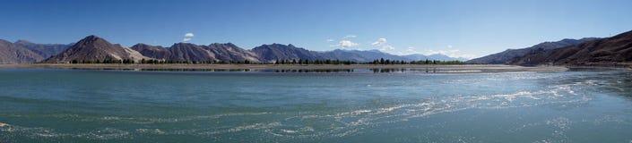 Lhasa rivver Arkivbilder