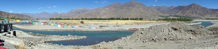 Lhasa rivver Royaltyfria Bilder