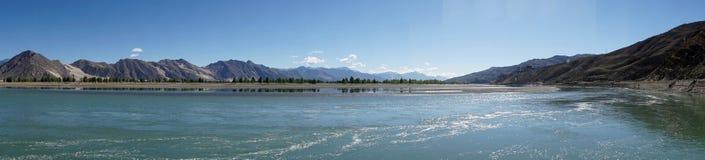 Lhasa rivver Fotografering för Bildbyråer