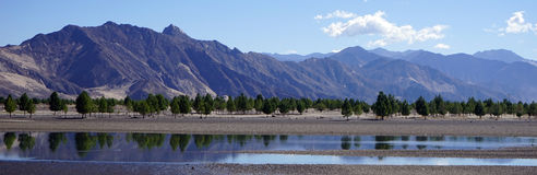 Lhasa rivver Royaltyfri Foto