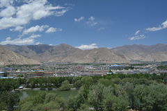 Lhasa's Town Royalty Free Stock Images