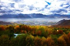 Lhasa scenery Royalty Free Stock Photos