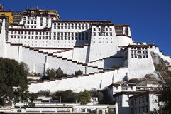 lhasa slottpotala Arkivfoto