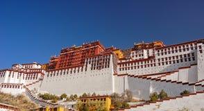 lhasa slottpotala Fotografering för Bildbyråer