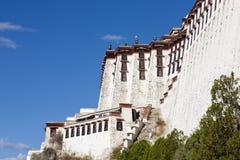 lhasa slottpotala tibet arkivfoton