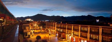 Lhasa Sunset Stock Images