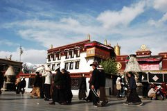 Lhasa,Tibet stock photography